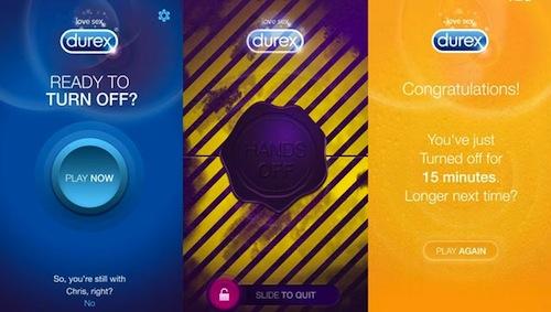 durex smartphone app