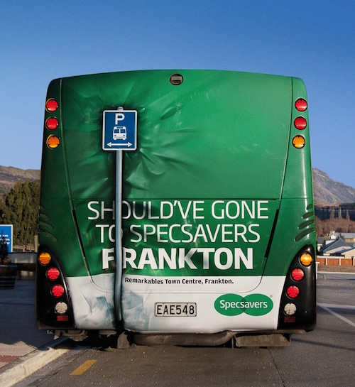 specsavers out of this world ad the stable specsavers bus crash