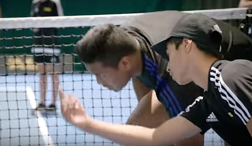 All Blacks ASB Classic Saatchi ball boys 2