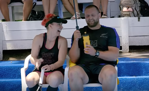 All Blacks ASB Classic Saatchi ball boys 3