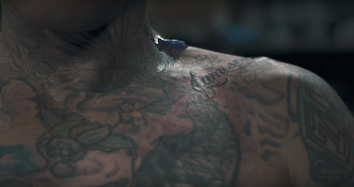 Team One: Air-Ink gets a cousin, Indian Motorcycle tattoo