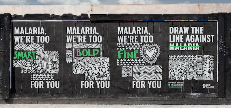 dentsu embeds ending malaria in African culture